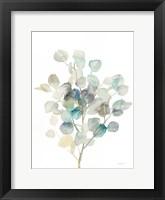 Eucalyptus III White Fine Art Print
