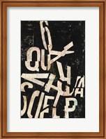 Type Abstraction II Fine Art Print