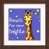 New Heights Giraffe Fine Art Print