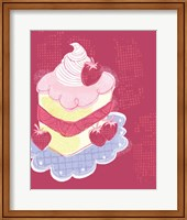 Strawberry Short Cake Fine Art Print
