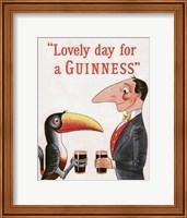 Lovely Day for a Guinness Fine Art Print