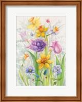 Flowers From A Friend Fine Art Print