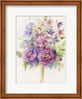 Purple Blooms Fine Art Print