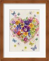 Flowering Heart Fine Art Print