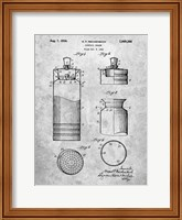 Cocktail Shaker Patent Fine Art Print