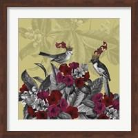Blooming Birds, Azalea Fine Art Print