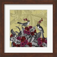 Blooming Birds, Azalea Fine Art Print