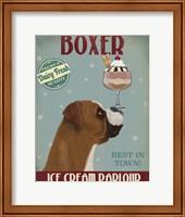 Boxer Ice Cream Fine Art Print