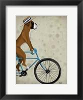 Boxer on Bicycle Fine Art Print