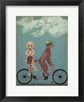 Poodle Tandem Fine Art Print