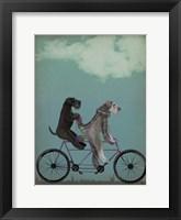 Schnauzer Tandem Fine Art Print
