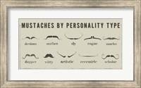 Mustaches Personalities Fine Art Print
