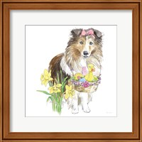 Easter Pups II Fine Art Print