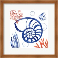 Coastal Jewels I Fine Art Print