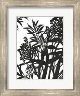 Monochrome Foliage II Fine Art Print