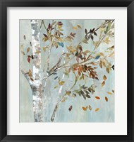 Birch with Leaves I Fine Art Print