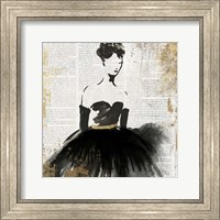 Lady in Black II Fine Art Print