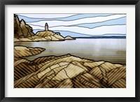 Graphic Lighthouse Fine Art Print