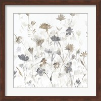 Garden Shadows III on White Fine Art Print