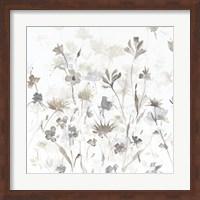Garden Shadows IV on White Fine Art Print