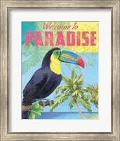 Island Time Tucan II Bright Fine Art Print