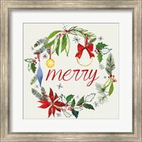 Watercolor Christmas VIII Fine Art Print