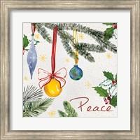 Watercolor Christmas III Fine Art Print