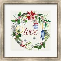 Watercolor Christmas V Fine Art Print