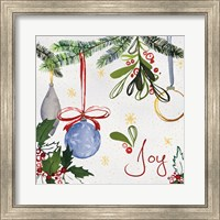 Watercolor Christmas I Fine Art Print