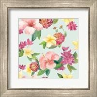 Tropical Fun Pattern VI Fine Art Print