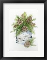 Birch Vase II Fine Art Print