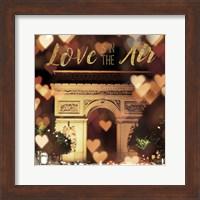 Love is in the Air Arc de Triomphe Fine Art Print