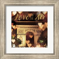 Love is in the Air Arc de Triomphe Fine Art Print