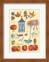 Fall Collage Fine Art Print