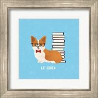 Good Dogs Corgi Bright Le Chien Fine Art Print