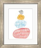 River Stones I Bright Fine Art Print