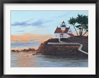 Battery Pt. Lighthouse Fine Art Print