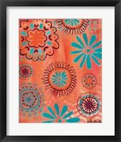 Bohemian Flowers Fine Art Print