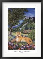Colorado Mountain Lion Fine Art Print