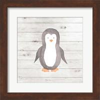 Watercolor Penguin Fine Art Print