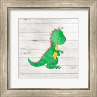 Water Color Dino IV Fine Art Print