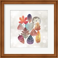 Leaves on Bokeh Fine Art Print