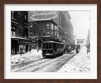 Vintage Bloomingdale's Fine Art Print