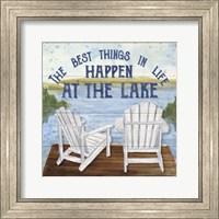 Lake Living I (best things) Fine Art Print