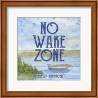 Lake Living II (no wake zone) Fine Art Print