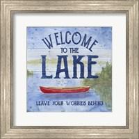 Lake Living III (welcome lake) Fine Art Print