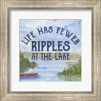 Lake Living IV (ripples) Fine Art Print