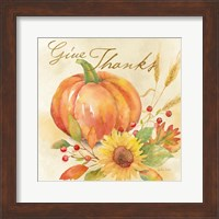 Welcome Fall - Give Thanks Fine Art Print