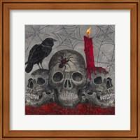 Something Wicked 3 Skulls Fine Art Print