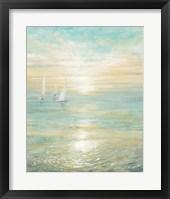 Sunrise Sailboats I Fine Art Print
